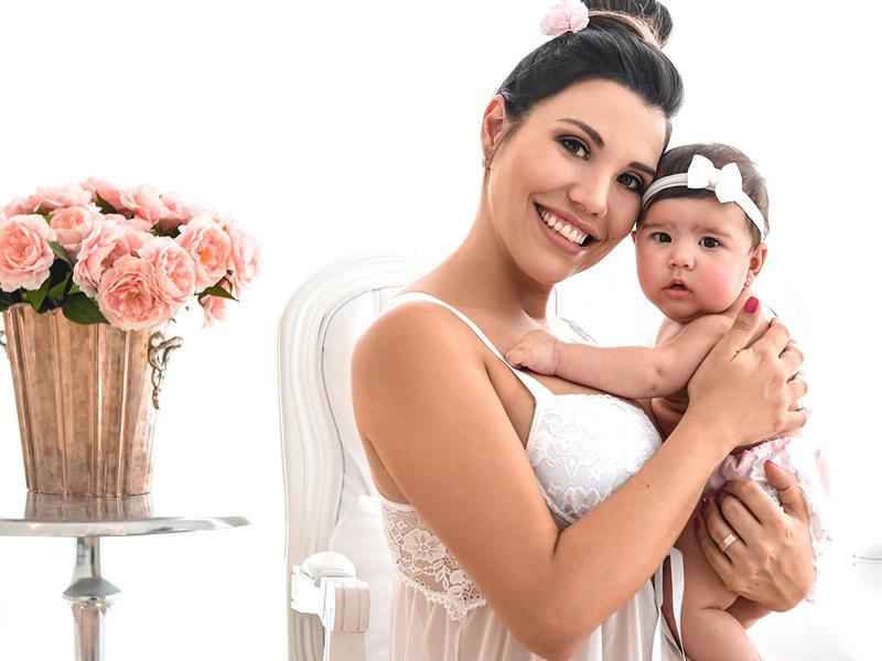 Fotos para gestantes - Milk Bath no salão de beleza Maison 31 em Porto Alegre