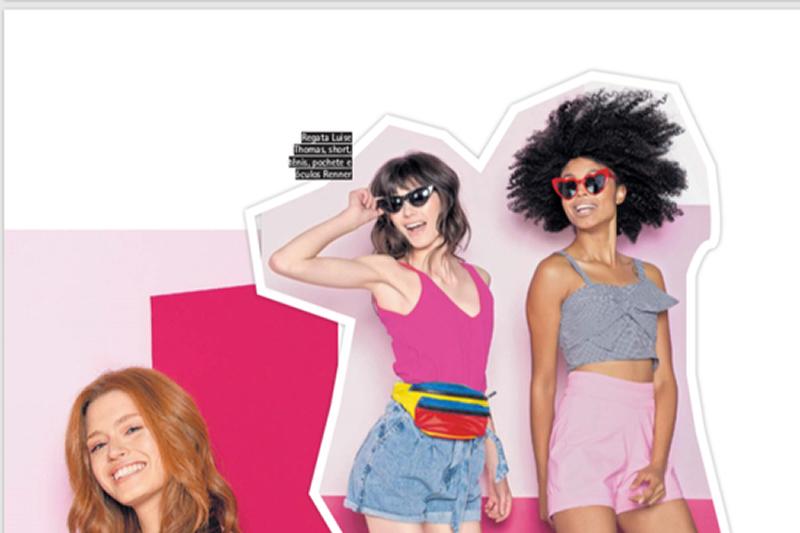 Revista Donna - Hits - no salão de beleza Maison 21 em Porto Alegre