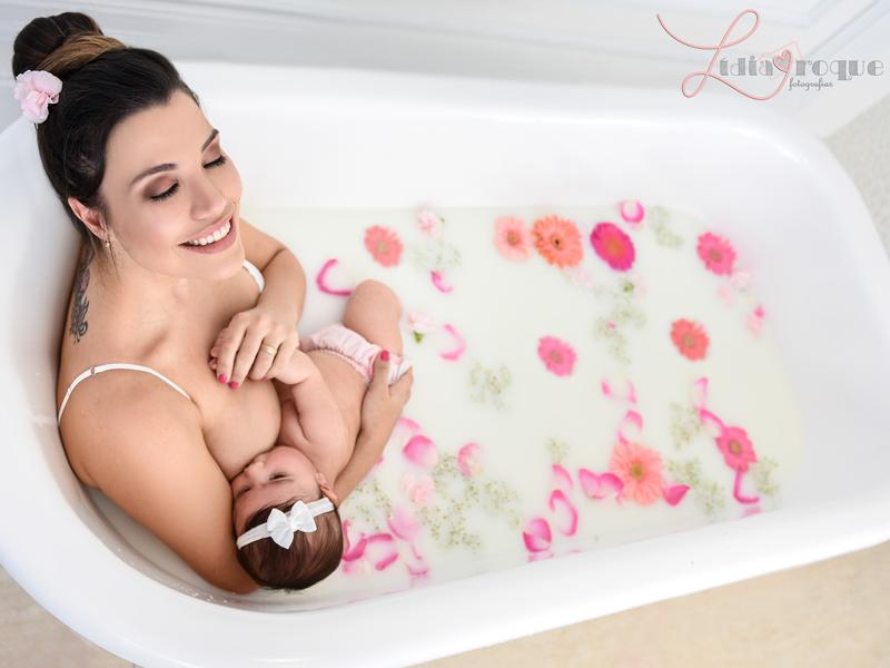 Imagem - Ensaio Milk Bath no salão de beleza Maison 31