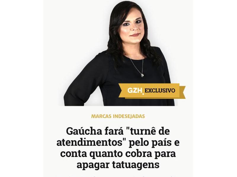 Imagem - Bruna Zanatta é destaque na coluna de Giane Guerra na Gaúcha ZH