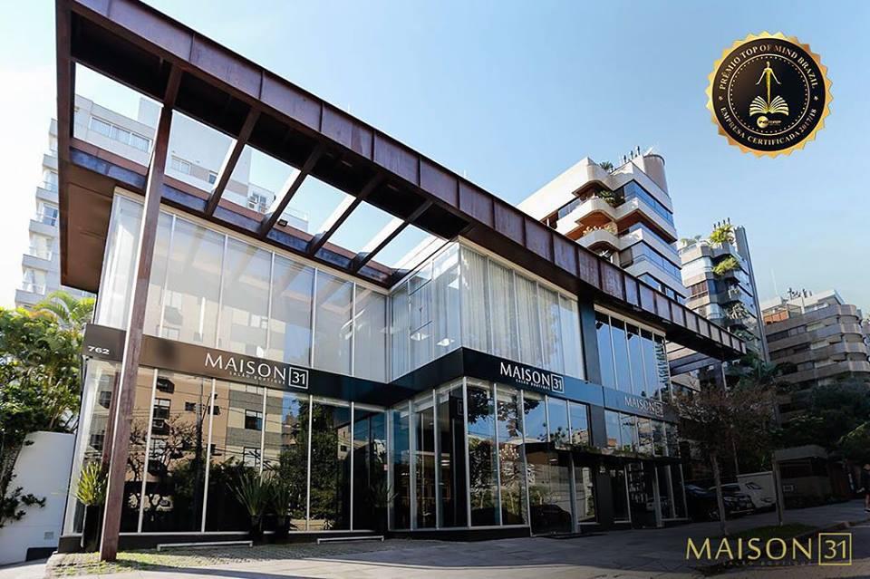 Salão de beleza Maison 31 é indicada ao Prêmio Top Of Mind Brazil