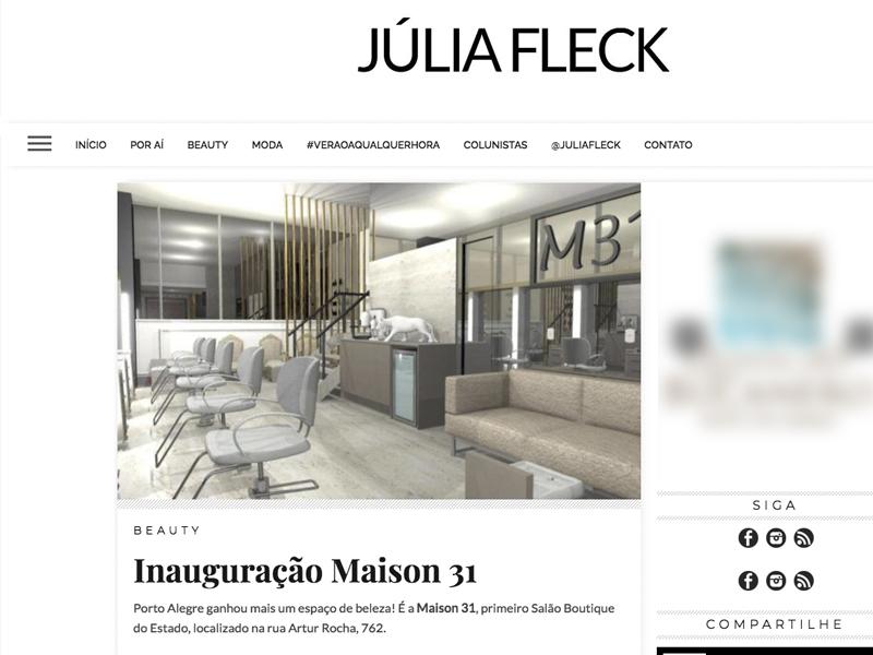 Clipping Maison 31 - Salão de Beleza Porto Alegre
